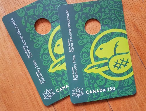 Free Parks Canada passes this year!
