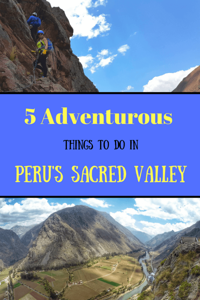 Peru was made for adventure and the Sacred Valley is no exception. It's worth spending an extra few days here to try out a few adventurous activities! #Peru #southamerica #adventure #zipline #horsebackride #mountainbike #sacredvalley #mountains #outdoors #travel