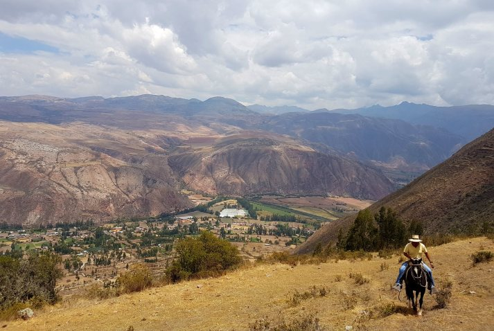 Catching some great views of the Sacred Valley.