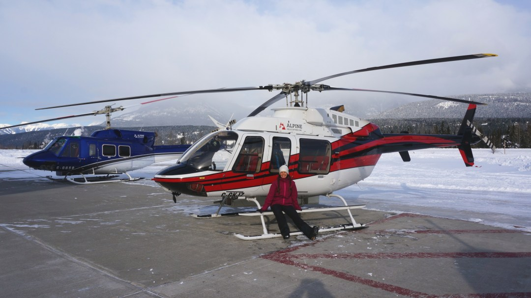 Me and my helicopter.