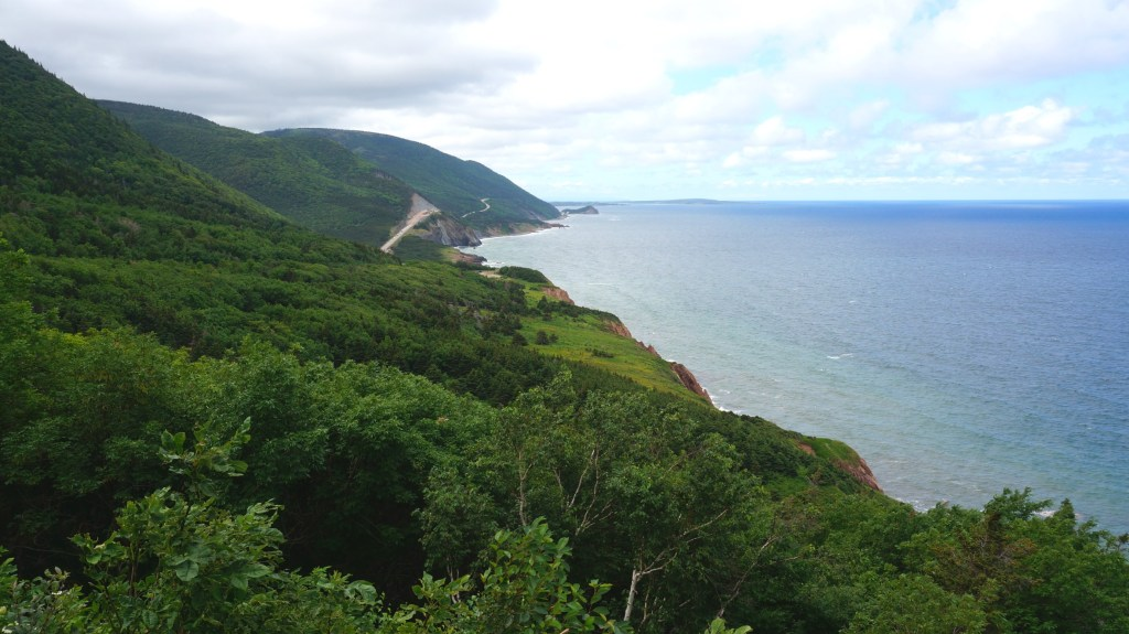 Incredible views in Cape Breton Highlands National Park.