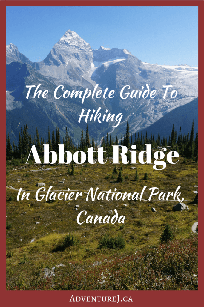 Abbott Ridge is one of my favorite day hikes in western Canada. With easy to access panoramic mountain views, this hike will take your breath away! #Canada #hiking #trekking #outside #outdoors #travel #traveltips #guide #mountains #nationalparks #discoverearth #explore