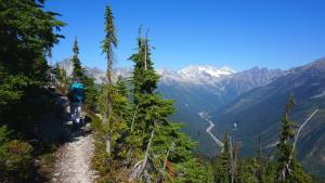 Views of Rogers Pass and the TCH.