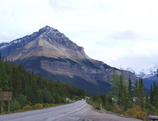 The Icefields Parkway, Alberta, Canada