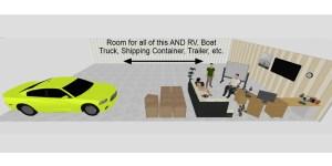 30x50 Contractors storage in Altoona, IA