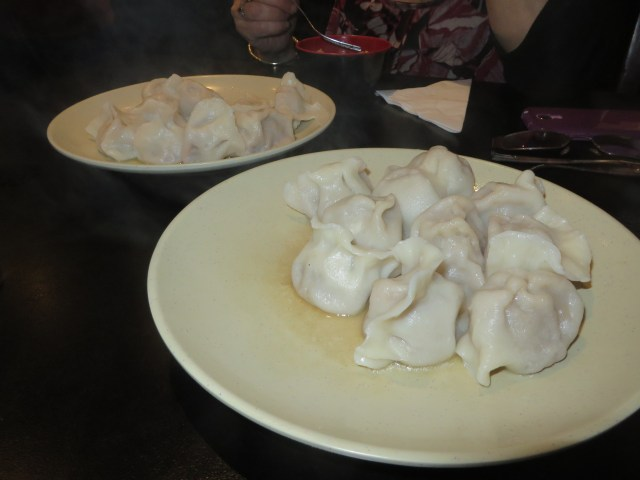 Boiled Pork Dumplings at Ping's Dumpling Kitchen- All this for under $20