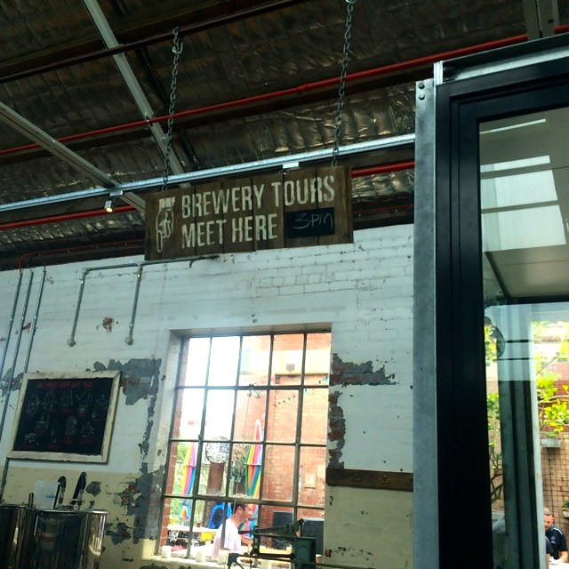 Brewery Tours at Little Creatures Brewery