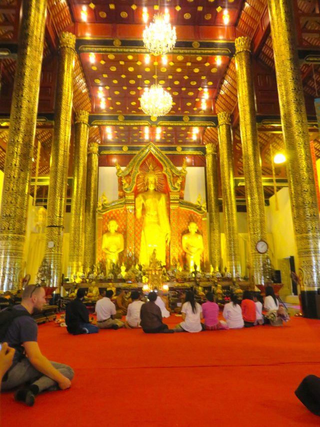 The new temple at Wat Chedi Luang