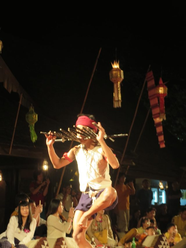 This guy was an awesome dancer at our Khantoke dinner in Chiang Mai