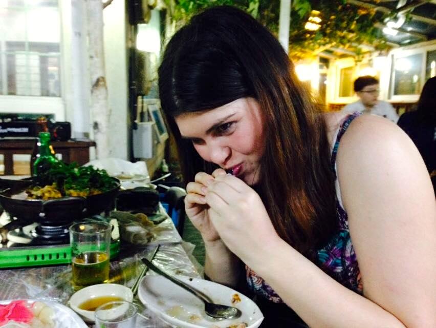 Eating Live Octopus At The Noryangjin Fish Market In Seoul