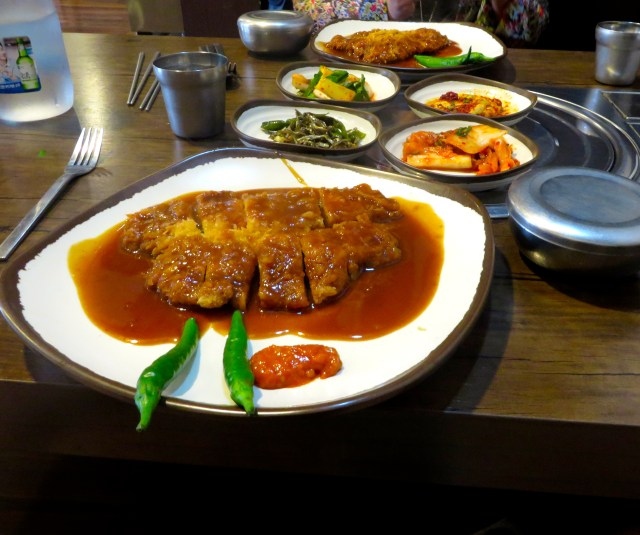 pork cutlet what to eat in south korea seoul