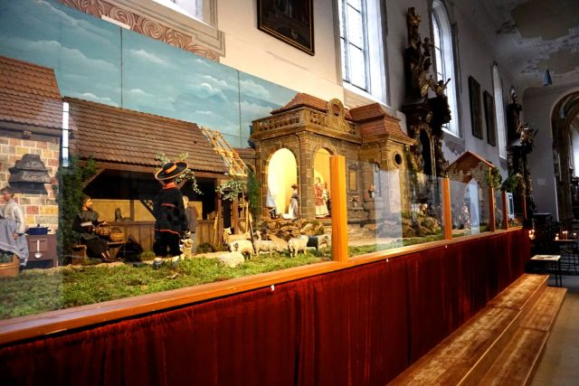 Nativity Scenes in a church in Bamberg