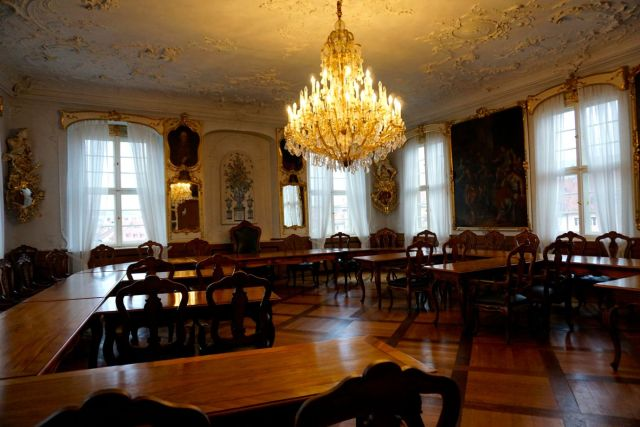 The State Rooms in the Old Rathaus (Town Hall) in Bamberg