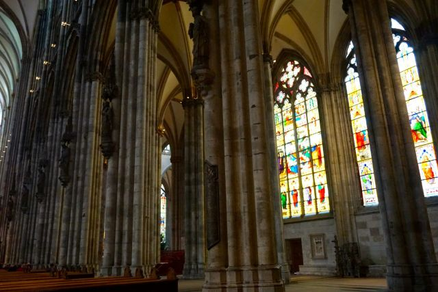Is Cologne Worth Visiting? interior cologne cathedral