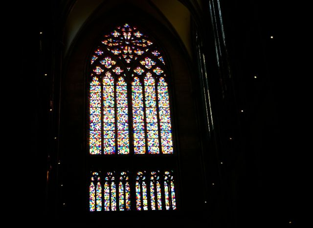Is Cologne Worth Visiting? stained glass controversial