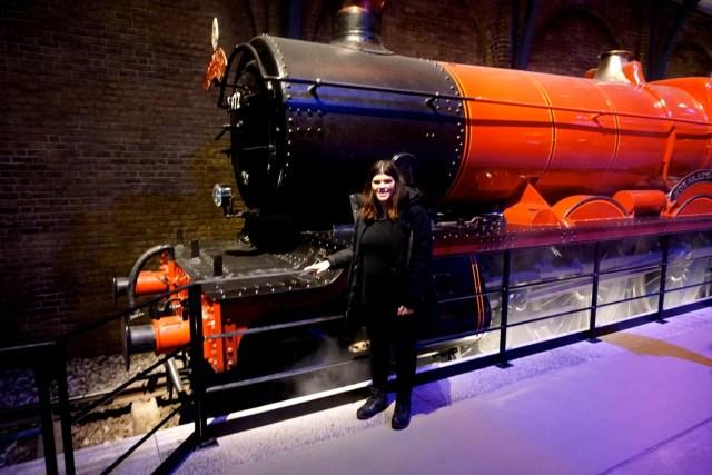 harry potter studios london hogwarts express