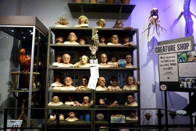 harry potter studios london creature shop