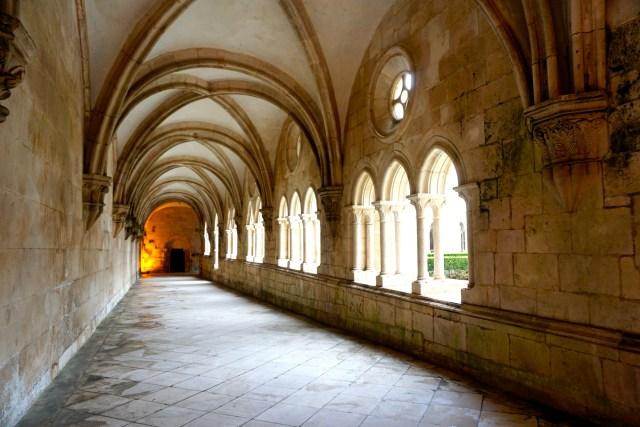 hiring a car in portugal alcobaca monastery