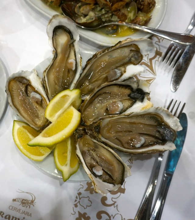 what to eat in portugal lisbon porto oysters