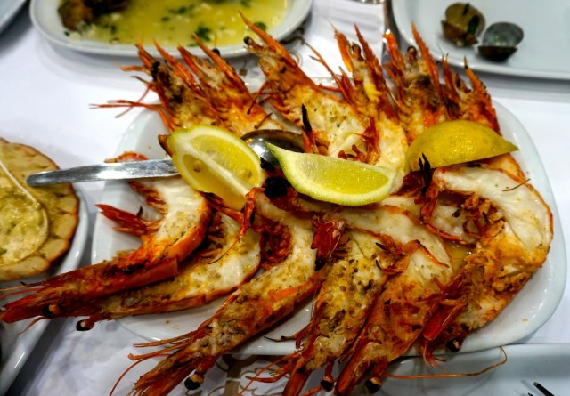 what to eat in portugal lisbon porto prawns ramiro