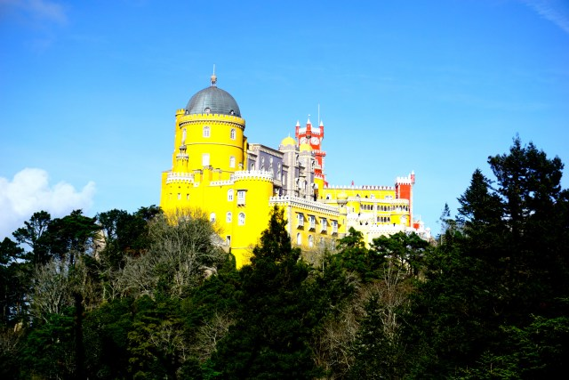 sintra best day trip from lisbon pena palace