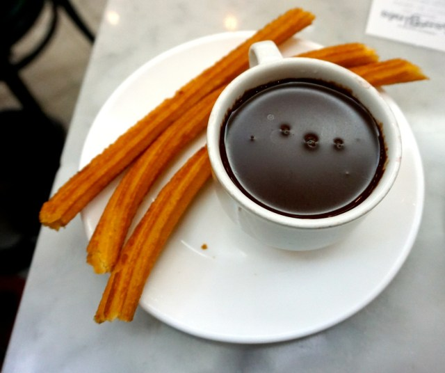 what to eat in Spain churros