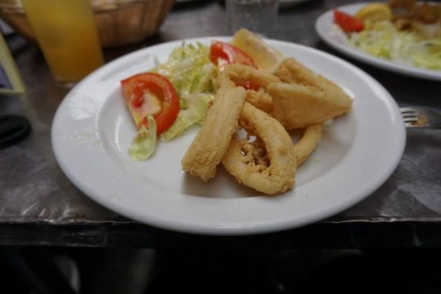 what to eat in Spain calamari