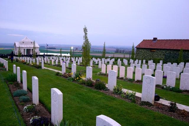 ANZAC Day Dawn Service at Villers-Brettoneux