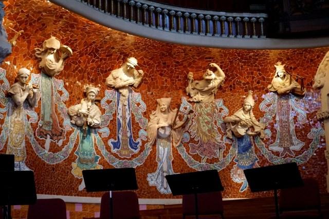 Guide to Barcelona Palau de la Musica Catalan