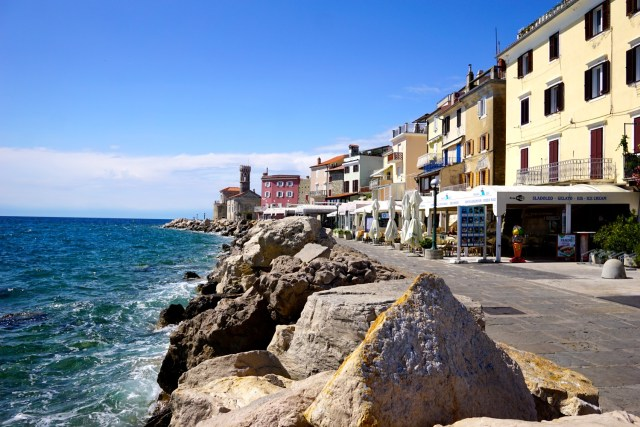 5 five days in slovenia piran roundabout travel
