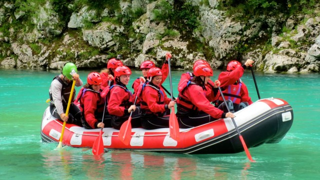 five days in slovenia emerald river adventure triglav national park white water rafting