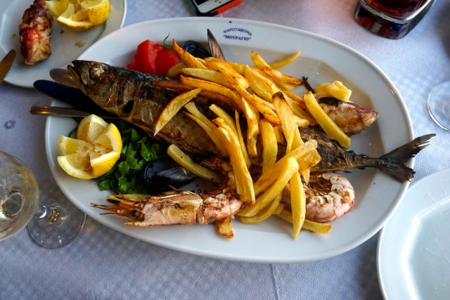 what to eat in greece seafood