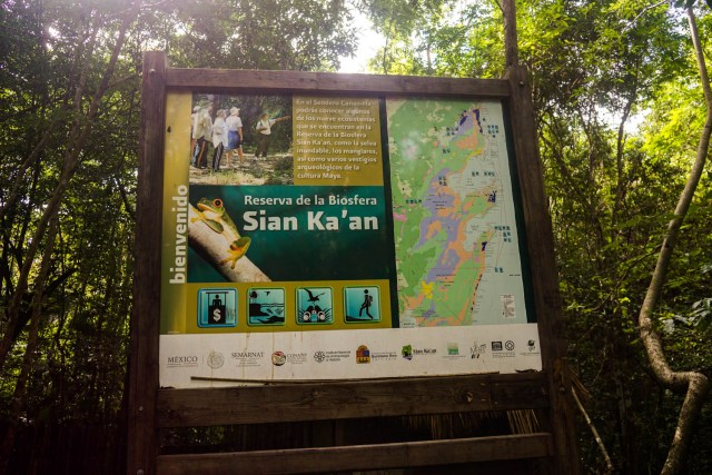 day trip to sian ka'an biosphere reserve from tulum mexico sian kaan