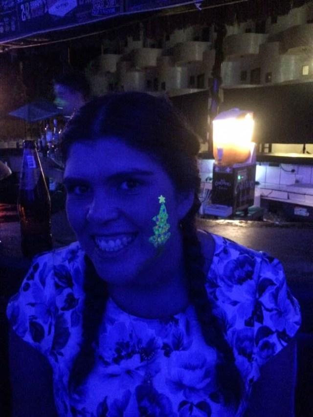 crazy christmas overseas at loki mancora hostel peru