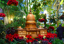 Immerse Yourself In A Beautiful, Unique Exhibit At The United States  Botanic Garden On The Capitol Grounds. Marvel At The Detailed Recreations  Of Famous ...