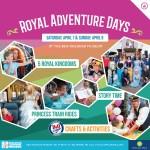 GIVEAWAY: Royal Adventure Days at B&O Railroad Museum