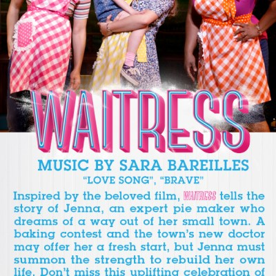GIVEAWAY: Waitress at National Theatre