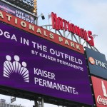 Nationals and Kaiser Permanente present Yoga in the Outfield