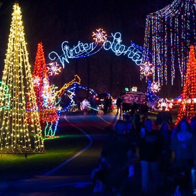 GIVEAWAY: Gaithersburg Winter Lights Festival