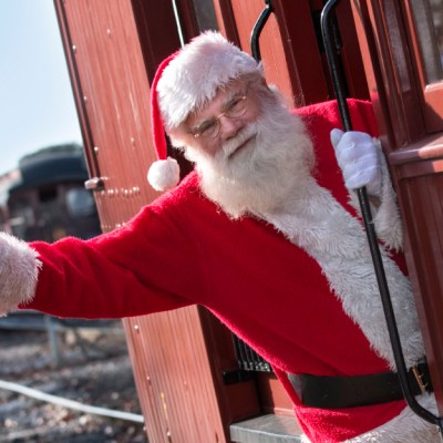 Santa's Paradise Express at Strasburg Rail Road