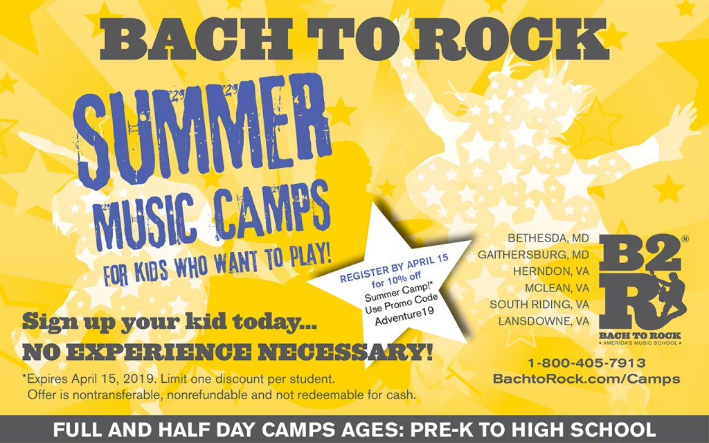 bach2rock summer camp