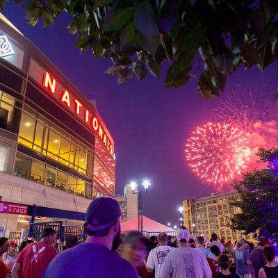 Fireworks Friday at Nationals Park