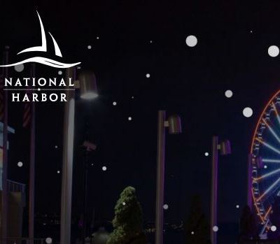 2019  National Harbor Tree Light Show Presented by Chase