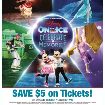 Disney on Ice Skates Through the District