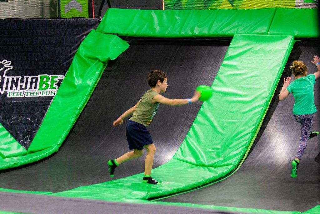 dodgeball trampoline park