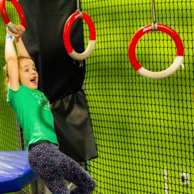 Fitness Meets Fun with Ninja Obstacles