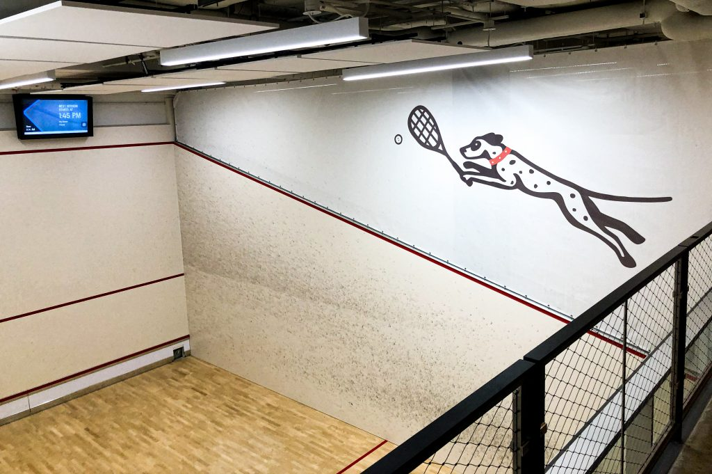 Squash On Fire Court