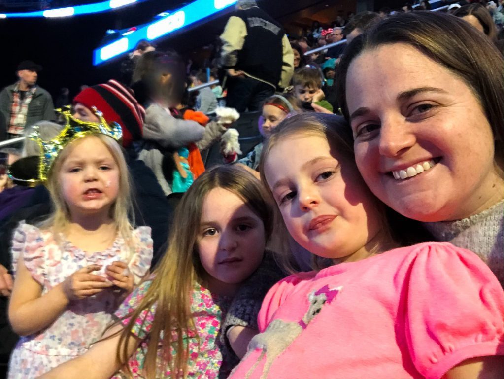 watching Disney On Ice