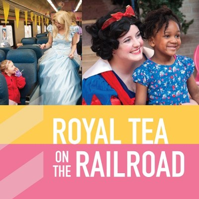 Royal Tea on the Railroad
