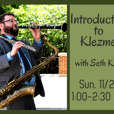 Introduction to Klezmer with Seth Kibel